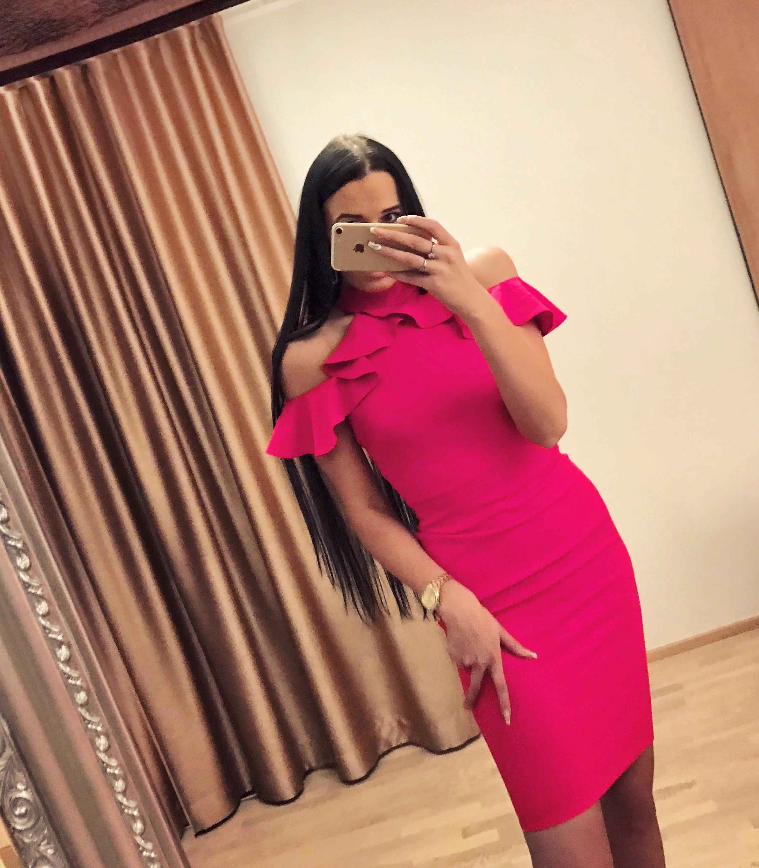 cdf6a53c189 Fuksiaroosa volangidega kleit – Kerttu's Boutique